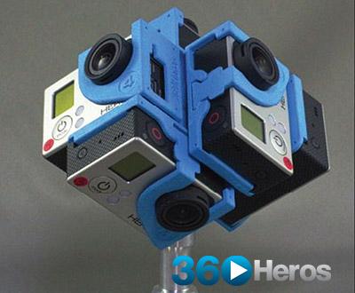 GoPro Hero 3 Accessories: 360Heros