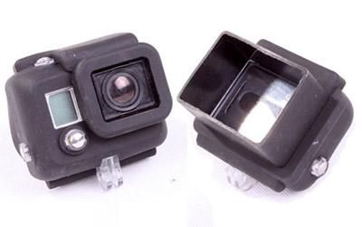 GoPro Hero 3 Accessories: EbairSoft Silicone Hero3 case