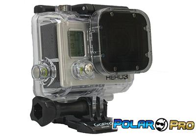 GoPro Hero 3 Accessories: PolarPro Hero3 Polarizer Filter