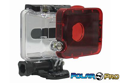 GoPro Hero 3 Accessories: PolarPro Hero3 Underwater Filter