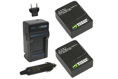 GoPro Hero 3 Accessories: Wasabi Battery for GoPro Hero3