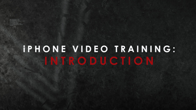 iPhone Video Training Series: Introduction